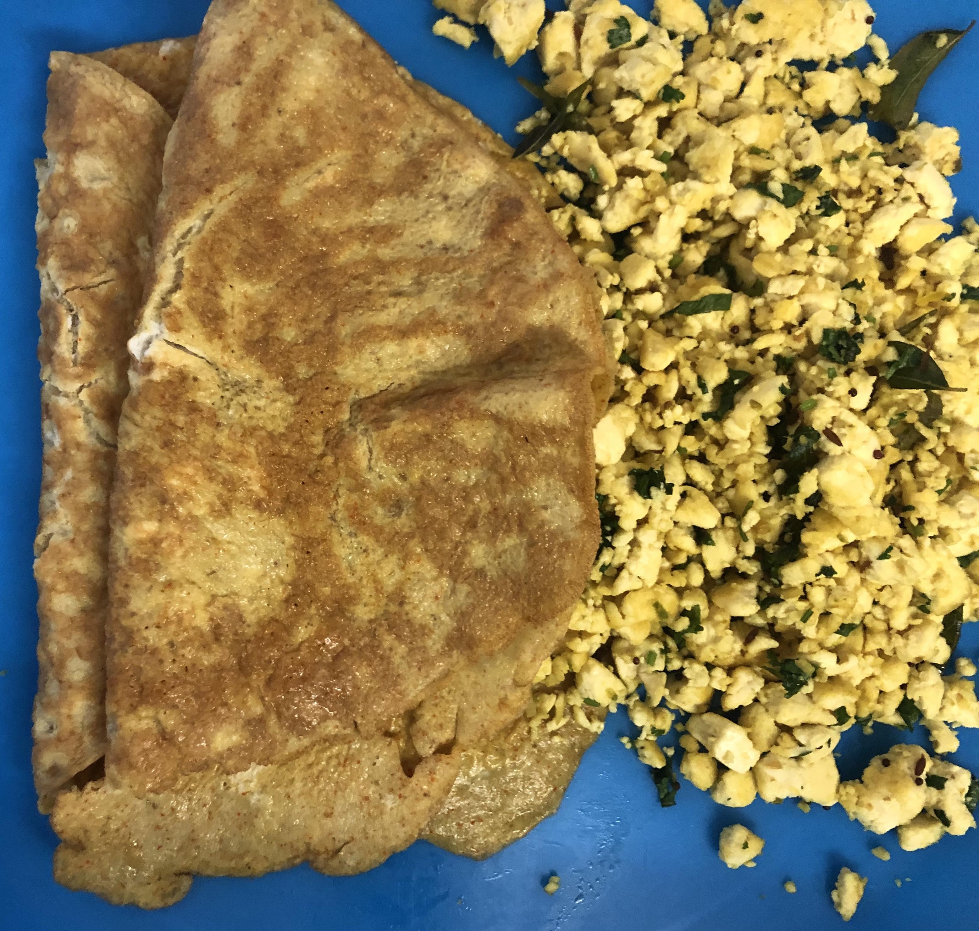 Tofu Talimpu with Omelette